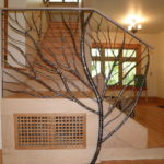Organic Interior Railing